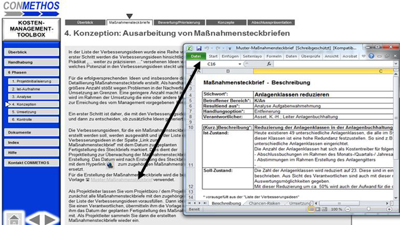 Management Tools Dateien