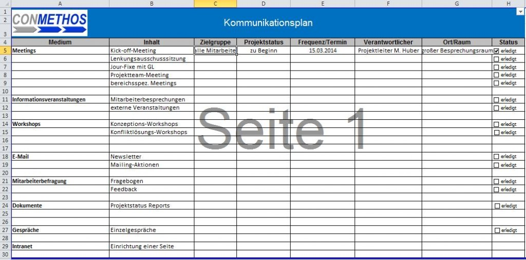 Kommunikationsplanung-Change-Management
