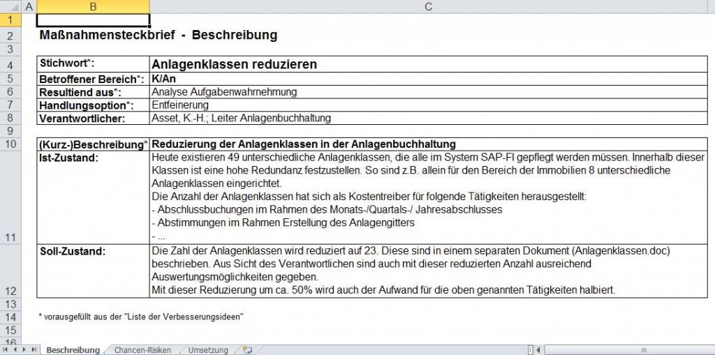 Maßnahmensteckbrief-Beschreibung